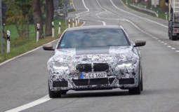 2020 BMW 4 Series Coupe spied around the Nurburgring