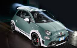 Abarth 695 70th Anniversario has 180 HP and manually adjustable spoiler