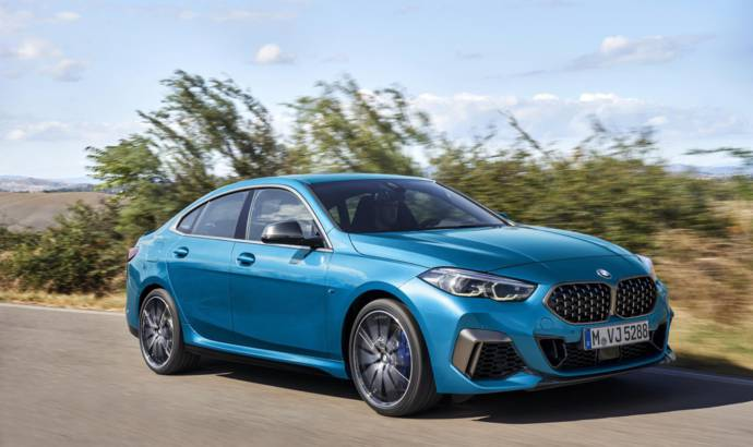 BMW 2 Series Gran Coupe officially unveiled