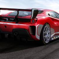 Ferrari 488 Challenge Evo gets detailed