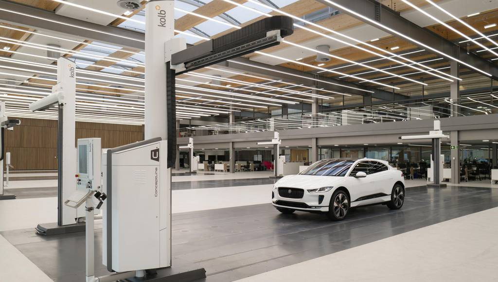 Jaguar Design Studio opens in Gaydon
