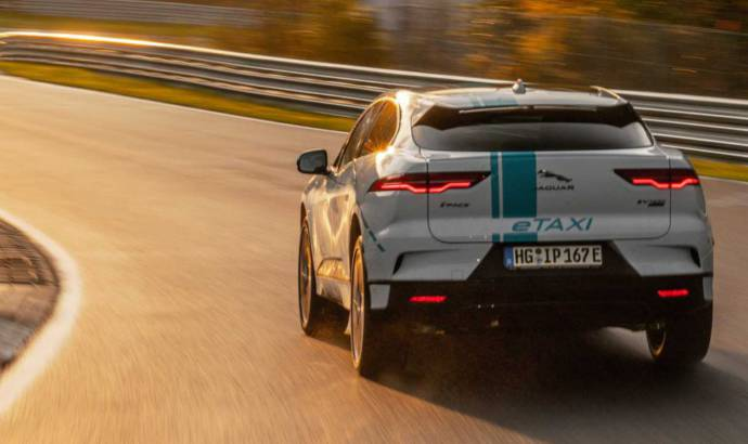 Jaguar I-Pace is the first electric SUV to tackle the Nurburgring as a Ring Taxi