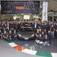 Lamborghini Huracan surpasses Gallardo production record