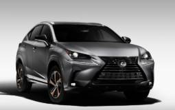 Lexus NX300 Black Line edition launched
