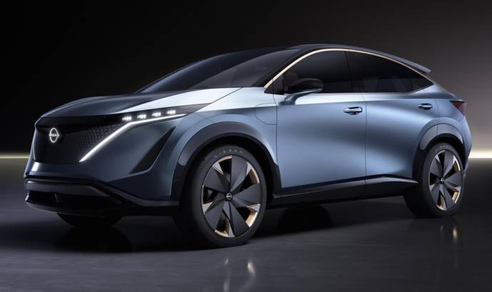 Nissan Ariya is a new concept for the future
