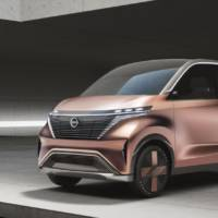 Nissan IMk concept hints at future electric cars
