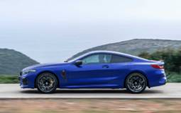 Pirelli developed the tires for the new BMW M8