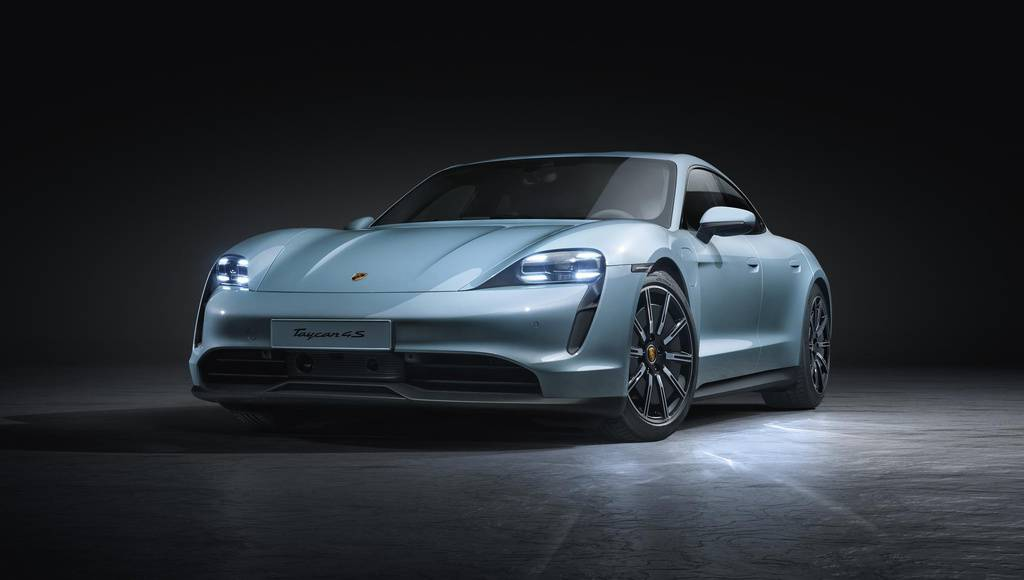 Porsche Taycan 4S introduced