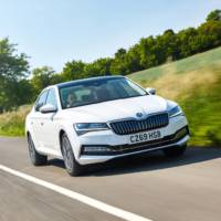 SKODA Superb iV plug-in hybrid UK pricing announced