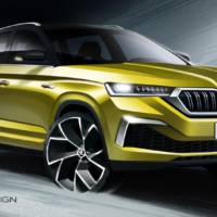 Skoda Kamiq GT first sketches