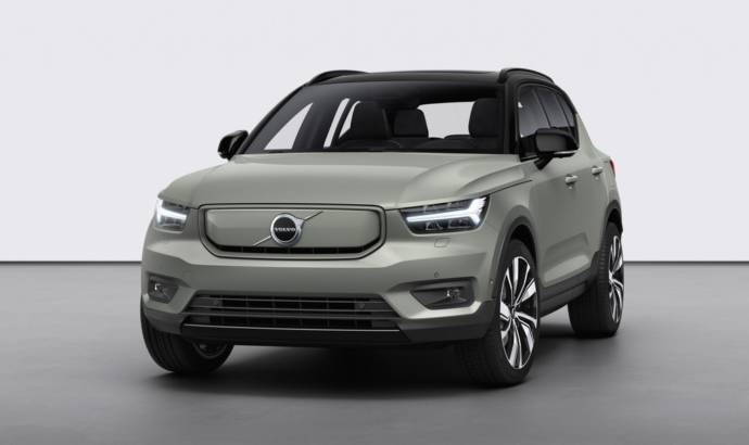 Volvo XC40 Recharge officially launched