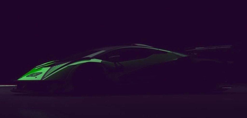 We have a first teaser with a track only Lamborghini hypercar