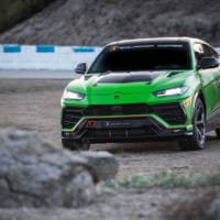 We have a new set of pictures with the Urus ST-X production model