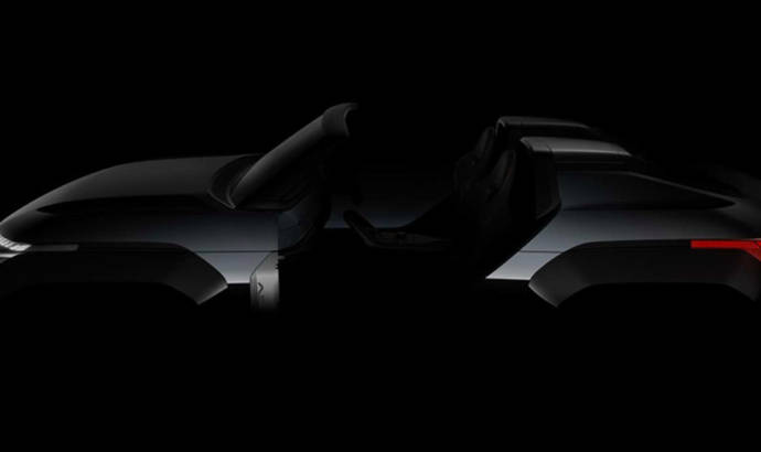 First teaser picture of the Mitsubishi Mi-Tech