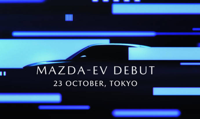New teaser video for the first Mazda electric model