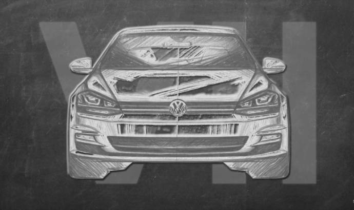 New teasers for the upcoming 2020 Volkswagen Golf