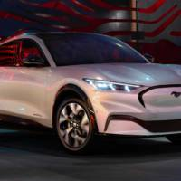 This is the 2020 Ford Mustang Mach-E, the first electic SUV of the company