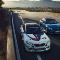 This is the 2021 BMW M2 CS Racing