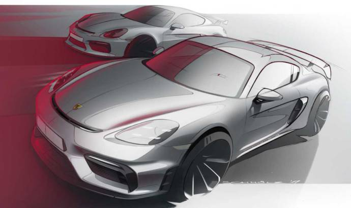 Next gen Porsche Cayman to feature electric drive with 400 HP