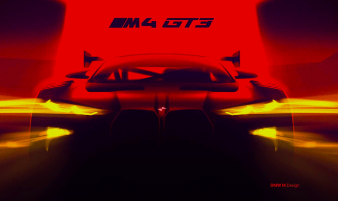 First official teaser of the upcoming BMW M4 GT3