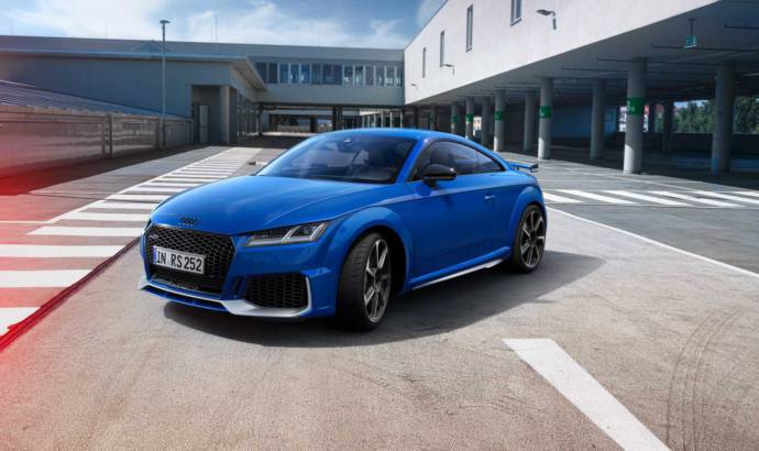 Anniversary for Audi RS models. The German manufacturer has some special packages