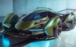This is the virtual concept car Lamborghini Lambo V12 Vision Gran Turismo