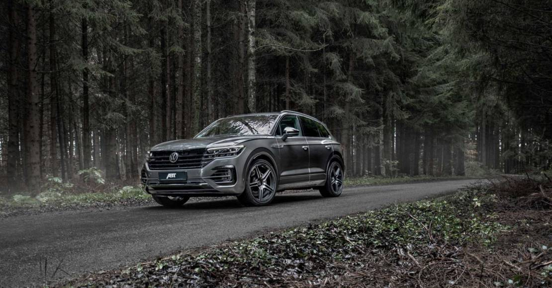 Volkswagen Touareg V8 Diesel got some power upgrade from ABT