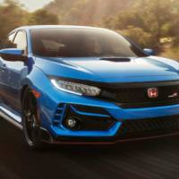 This is the first official picture of the 2020 Honda Civic Type R facelift