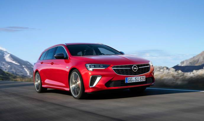 Opel Insignia GSi facelift has 230 horsepower and all-wheel drive
