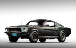 The Ford Mustang GT used in the Bullitt movie was sold for a record 3.4 million USD