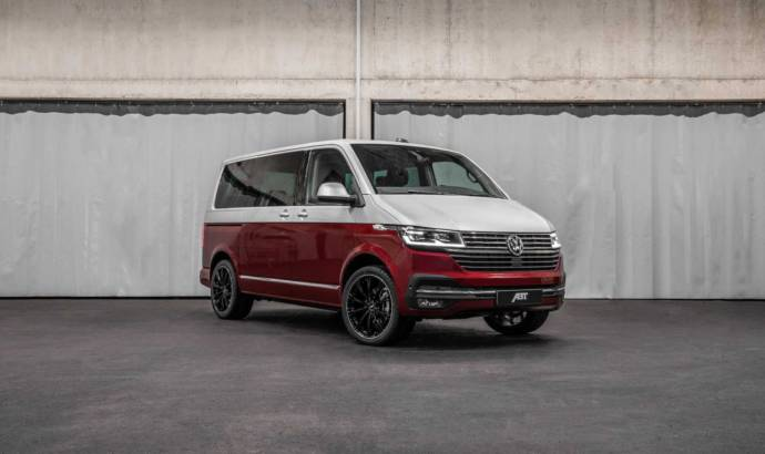 A couple of months ago, Volkswagen unveiled the updated Transporter portfolio. Now, the guys from ABT Sportsline have prepared some special tweaks. As you can imagine, the modifications are also done on exterior and under the hood. On the design side, the guys from the German tuning firm have decided to come with some interesting chromed accessories and with new 19 or 20 inch wheels. As you can imagine, the wheels are part of ABT line-up and are offered only in black. As you may have read, the Volkswagen Transporter is offered only with a 2.0 liter diesel engine. There are various variants of power, but the guys from ABT Sportsline are giving the push only for the most powerfull ones. The 2.0 TDI with 150 horsepower got the ABT Engine Control unit which raised the power to 180 horsepower and 295 pound-feet of torque (standard is 250 pound-feet of torque). The 200 horsepower version will also get the ABT Engine Control unit and it will deliver 230 horsepower and 361 pound-feet of torque, 29 pound-feet more.