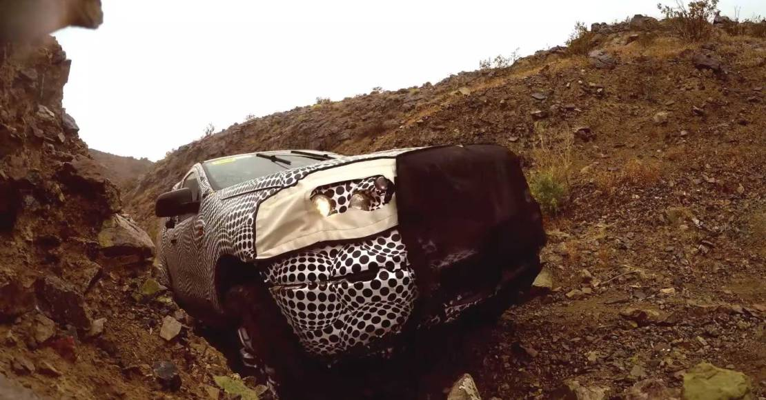 Ford Bronco first video teaser