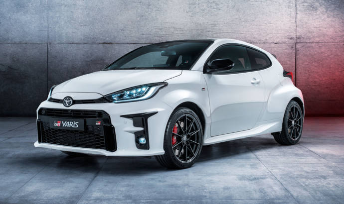 Toyota GR Yaris has 261 HP and all-wheel drive