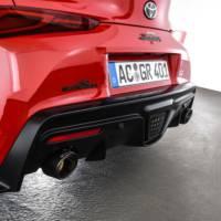 AC Schnitzer Toyota Supra rear exhaust