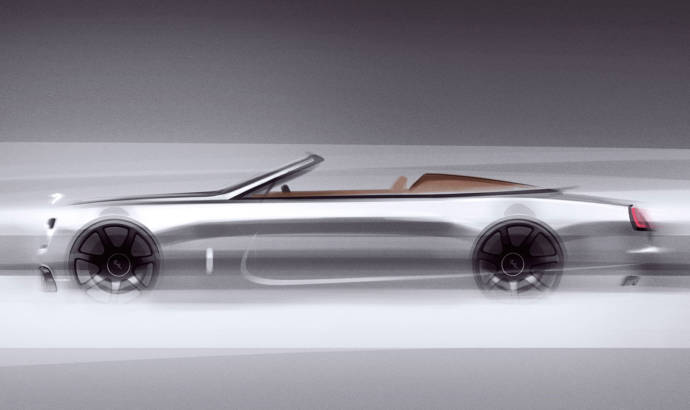 Rolls-Royce Dawn Silver Bullet: first teaser pictures
