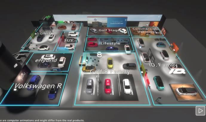 Volkswagen virtual motor show