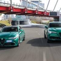 2020 Alfa Romeo Stelvio and Giulia Quadrifoglio got some upgrades