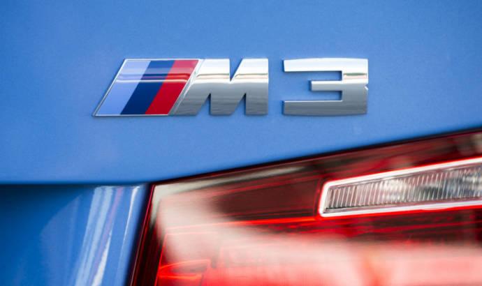 2021 BMW M3 spied around the Nurburgring