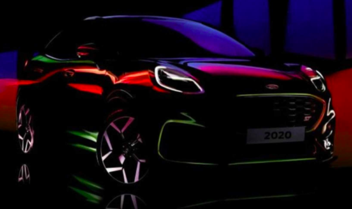 First video teaser of the upcoming Ford Puma ST