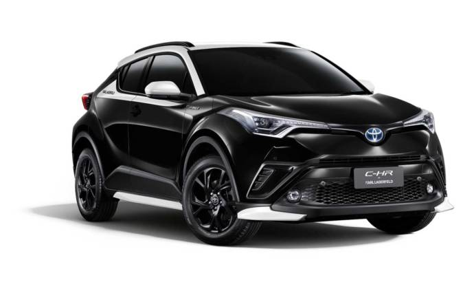 Toyota C-HR By Karl Lagerfeld is a special edition for Thailand