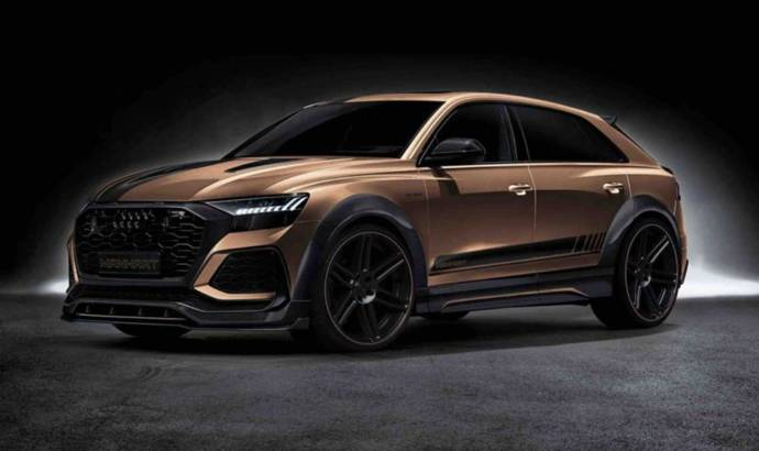 Audi RS Q8 by Manhart has 900 HP