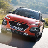 Hyundai Kona N spied around the Nurburgring