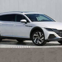 2021 Volkswagen Arteon Shooting Brake leaked images