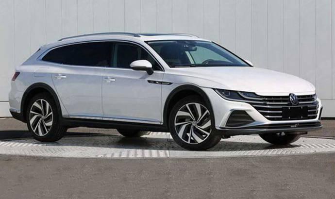 2021 Volkswagen Arteon Shooting Brake leaked images