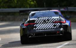 First camouflaged pictures of the upcoming 2022 BMW M4 GT3