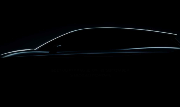 The first teaser of the 2021 Skoda Enyaq iV electric SUV