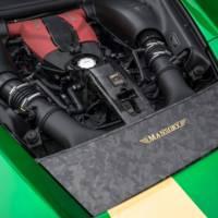 2021 Mansory F8XX Drivetrain